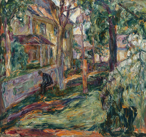 Art Prints of Man in a Park by Abraham Manievich