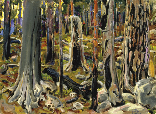 Art Prints of Burnt Forest by Akseli Gallen-Kallela