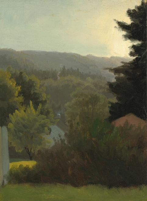 Art Prints of Forested Hills by Albert Bierstadt
