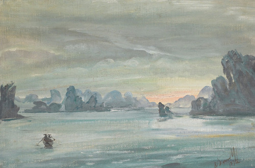 Art Prints of Halong Bay, Vietnam by Alexander Evgenievich Yakovlev