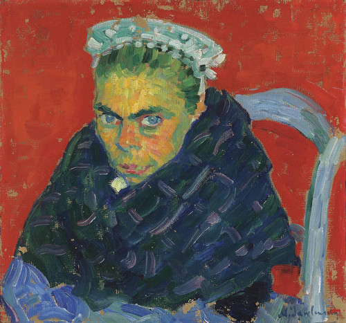 Art Prints of Breton Peasant Woman by Alexej Von Jawlensky