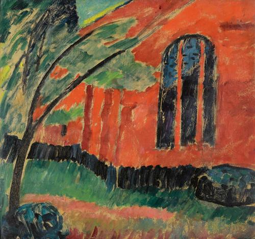Art Prints of Church in Prerow by Alexej Von Jawlensky