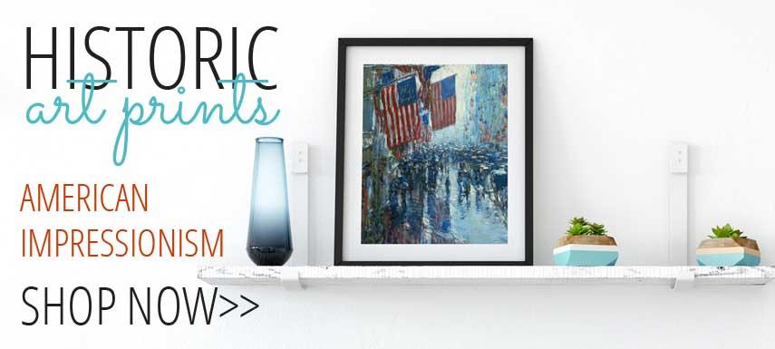 Shop American Impressionist Art