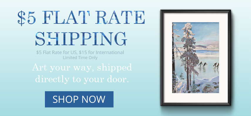 $5 Flat Rate Shipping Promotion