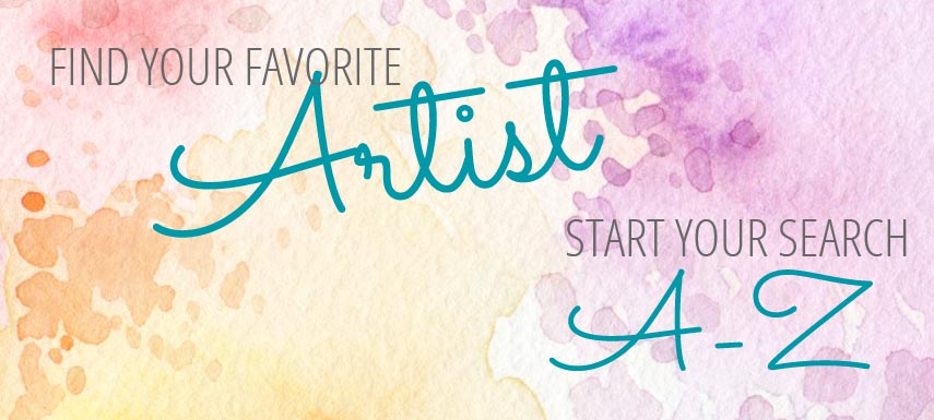 Find Your Favorite Artist, Start Your Search A-Z