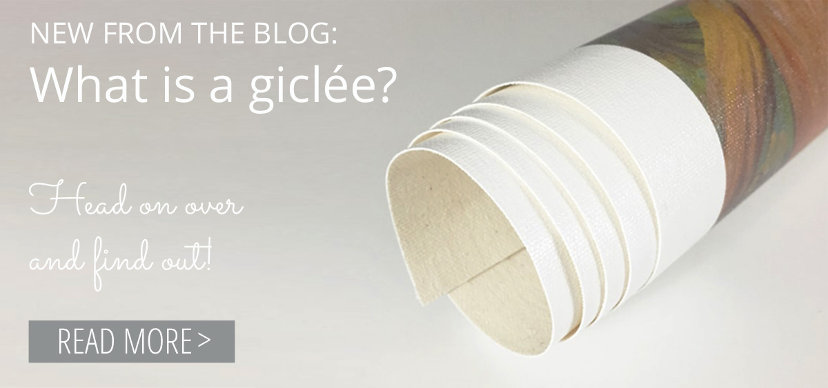 New from the blog: What is a giclee? Read more >