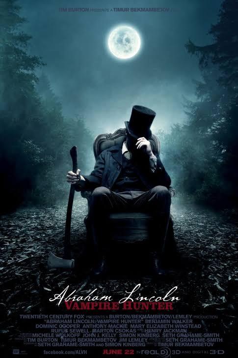 Abraham Lincoln Vampire Hunter Movie Poster - 20th Century Fox