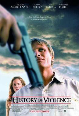 History of Violence Movie Poster - New Line Cinema