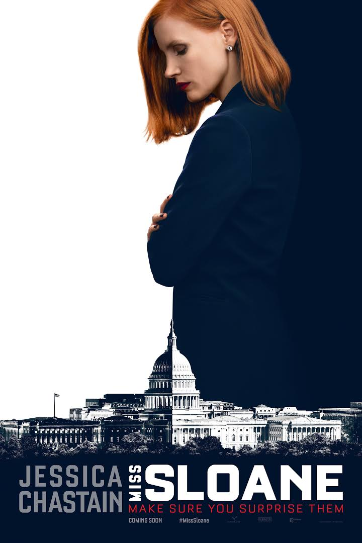 Miss Sloane Movie Poster - Europa Corp