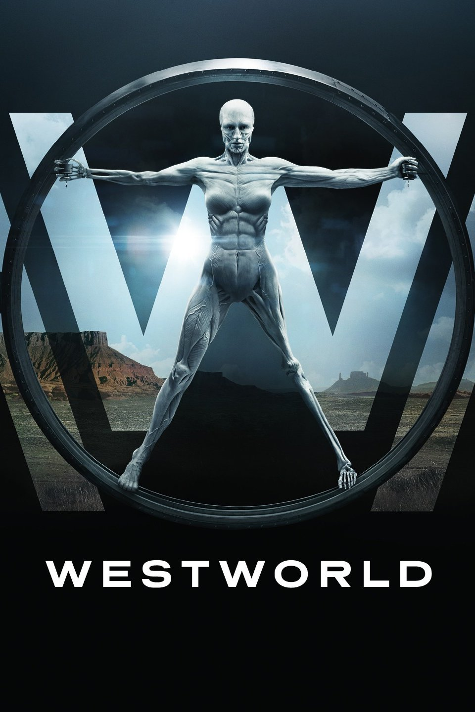 Westworld Television Series Poster - HBO
