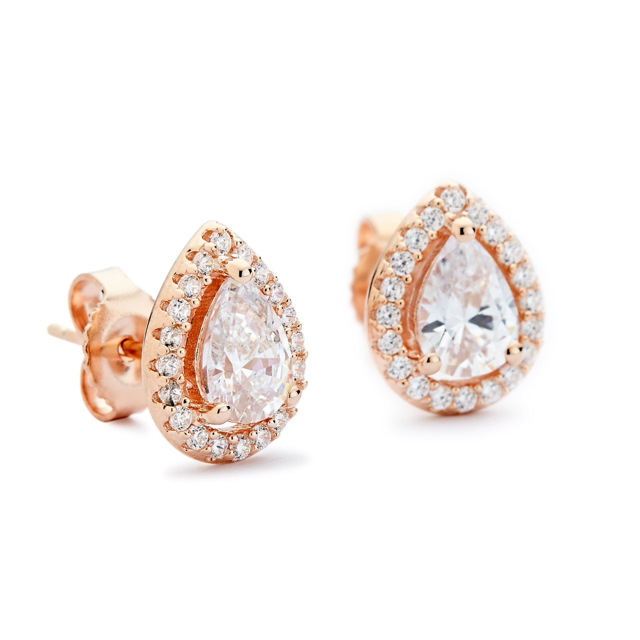 oval halo gold white stud jewellery image diamond earrings