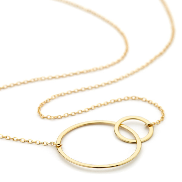 you necklace beauteous gold i plating friendly pendant ring double yiy p forever neckla environment love s
