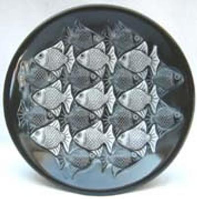 Fish Marble Bowl, Ebony - Symetree Series
