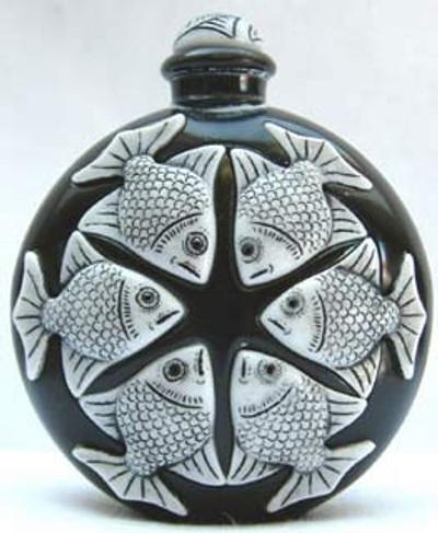 Fish Marble Perfume , Ebony - Symetree Series