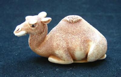 Camel Palm Charm, Ivory Finish