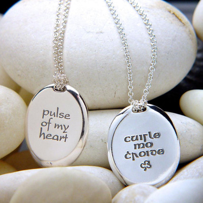 Pulse Of My Heart Sterling Silver Necklace