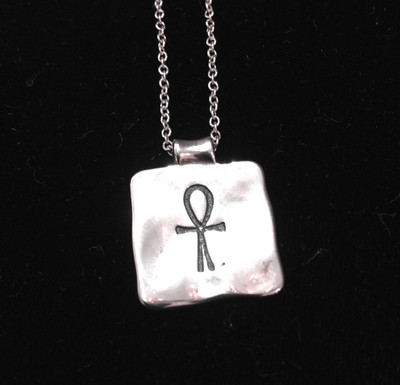 Ankh Sterling Silver Necklace