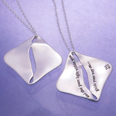 Pure Light Within Sterling Silver Necklace