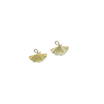 Ginkgo Tailored Post Earring