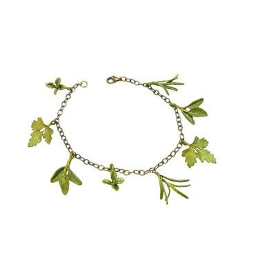 Petite Herb Charm Bracelet