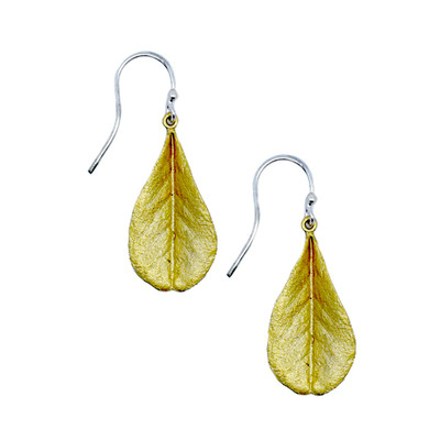 False Indigo Fishhook Earrings