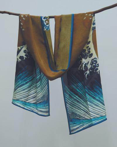 Great Wave Silk Scarf