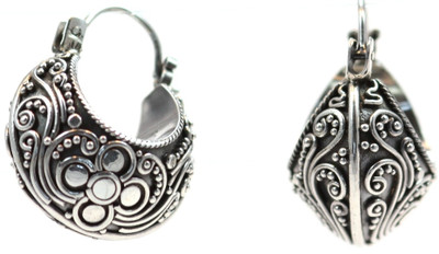 Dewi Filigree Wrap Earrings
