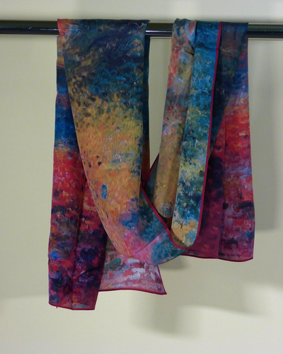 Forest of St. Germain Silk Scarf