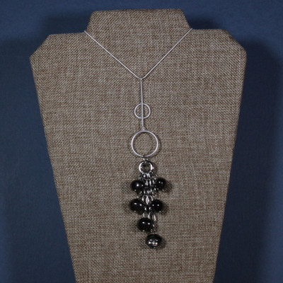 Abstract Bubbles Necklace