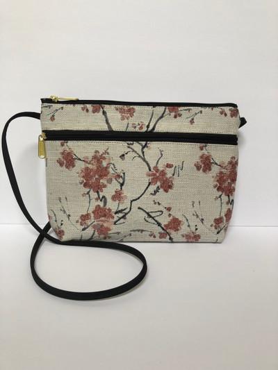Cherry Blossom, Small Zipper Purse