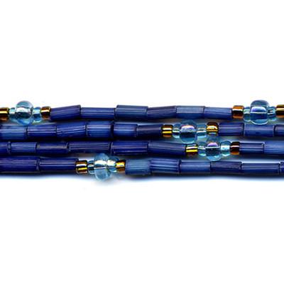 handmade single strand zulugrass african bead jewelry in tiana