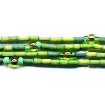 handmade single strand zulugrass african bead jewelry in after the rain