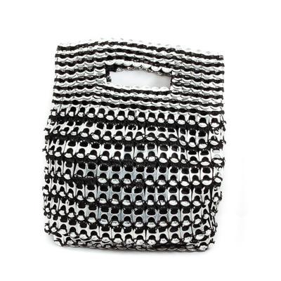 soda tab purse silvia handbag in black
