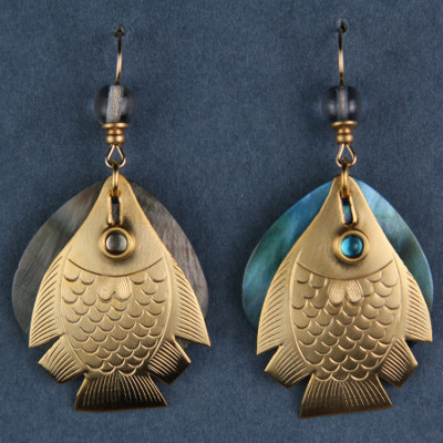 Fabulous Fish-hook Earrings!