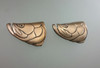 Tarpon Face Fish Buckle in Bronze for 1.25 and 1.5 belts