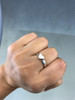 Classic Flat Heart Ring in Sterling Silver