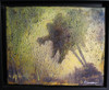 If A Tree Falls... Acrylic on 8 x 10  textured canvas. Shown framed in a Floater frame not included