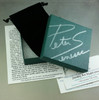Each pair of cufflinks comes in a velvet bag in a hand-signed box