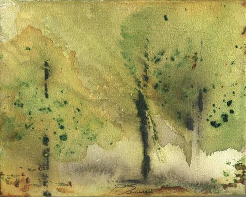 original acrylic painting on 8 x 10 canvas. aleatoric 33013