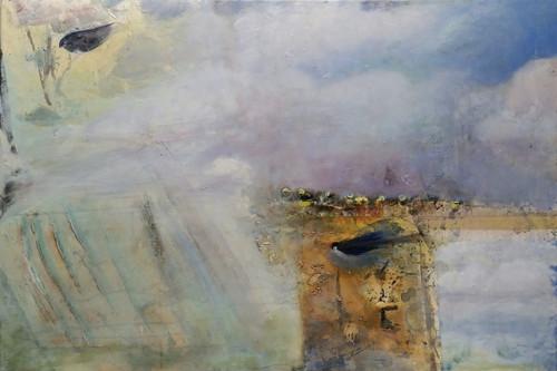 see Birds 36 x 24 acrylic on canvas