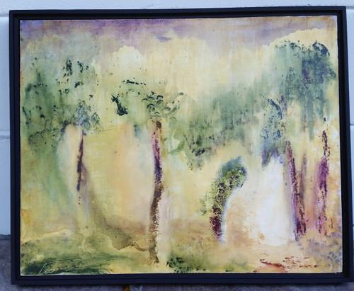 The Light Acrylic on panel  16 x 20