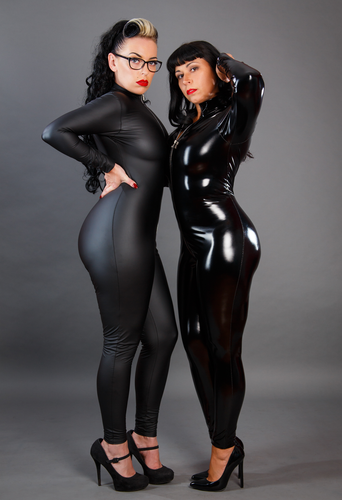 Full Body Catsuit with 2 way crotch zipper