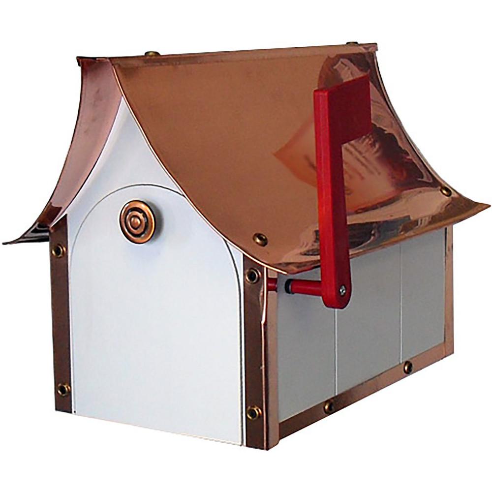 Amish Premium Victorian Copper & Poly Vinyl Mailbox