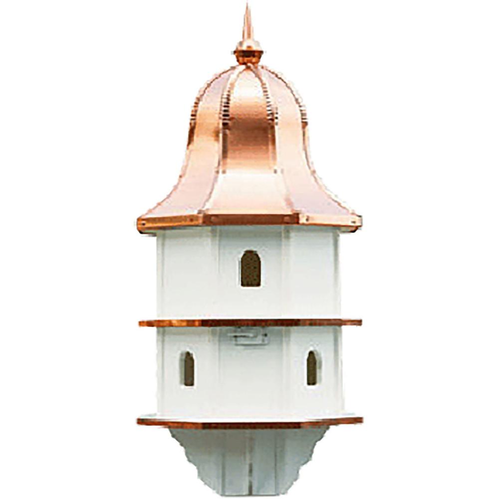 Amish Copper Bell Top 36ʺ Vinyl Birdhouse