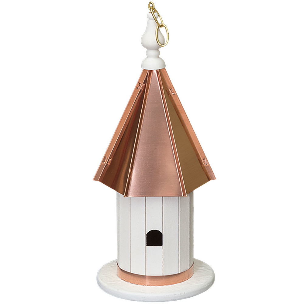 Amish 18ʺ High Copper Top Wren House