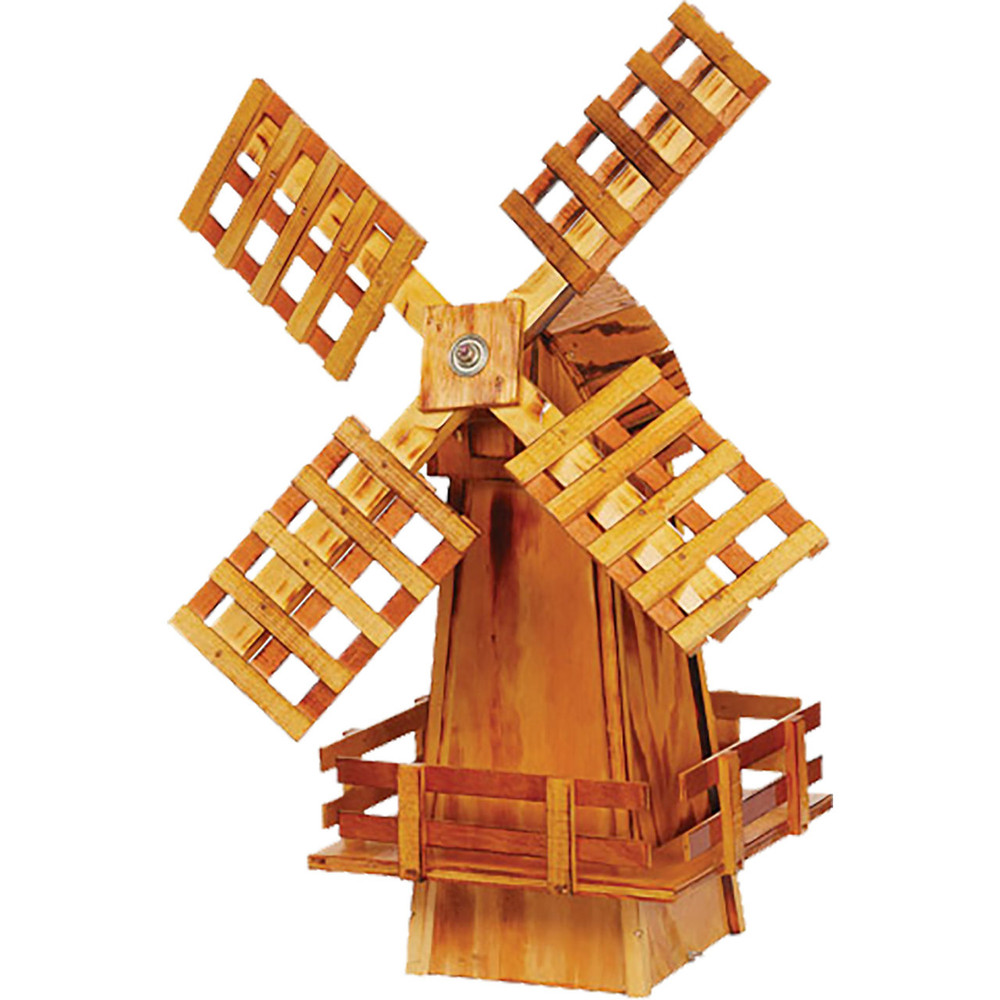 Amish 30ʺ Wooden Windmill