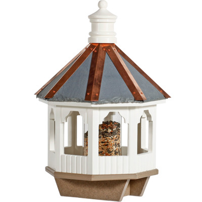Amish Gazebo Vinyl Bird Feeder