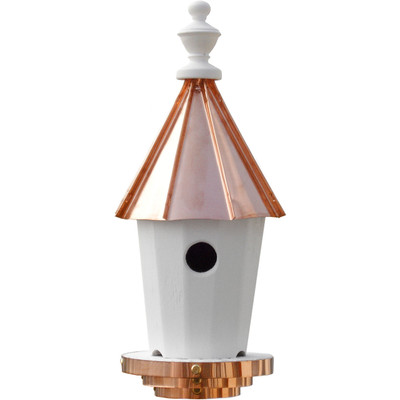 Amish 19ʺ Copper Top Bluebird House