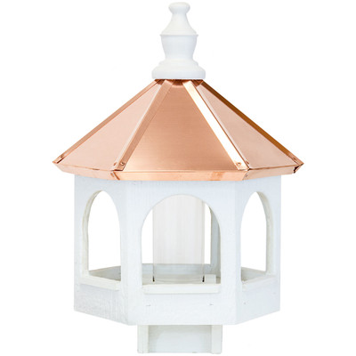 Amish 21ʺ Copper Top Gazebo Bird Feeder