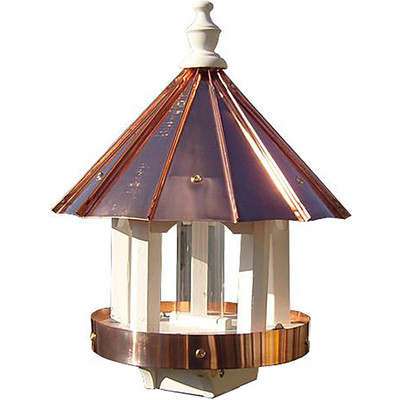 Amish 24ʺ Copper Top Bird Feeder